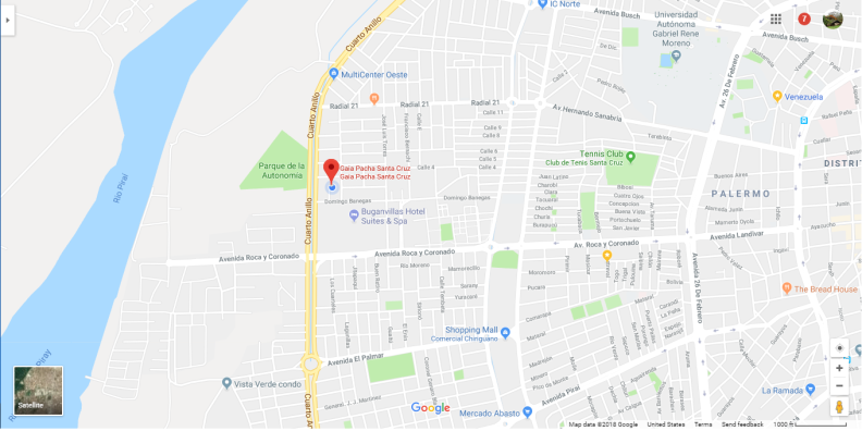 Mapa GP SC